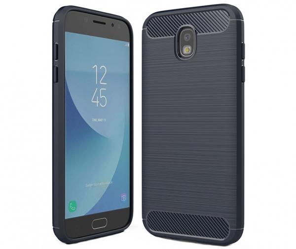 Husa Air Carbon Samsung Galaxy J5 (2017), Dark Blue [0]