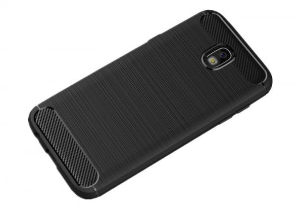 Husa Air Carbon Samsung Galaxy J7 (2017), Negru 1
