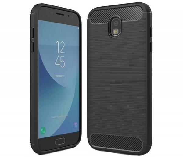 Husa Air Carbon Samsung Galaxy J7 (2017), Negru 0