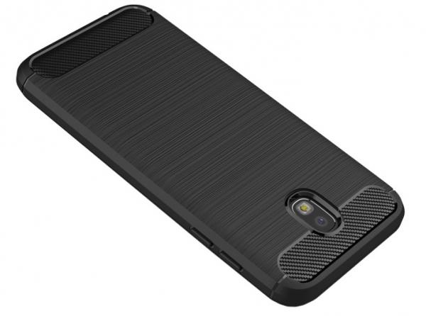 Husa Air Carbon Samsung Galaxy J7 (2017), Negru 2