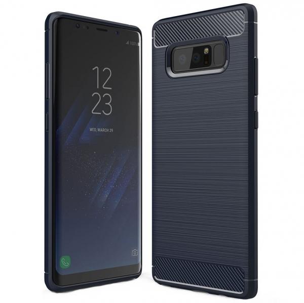 Husa Air Carbon Samsung Galaxy Note 8, Dark Blue 0