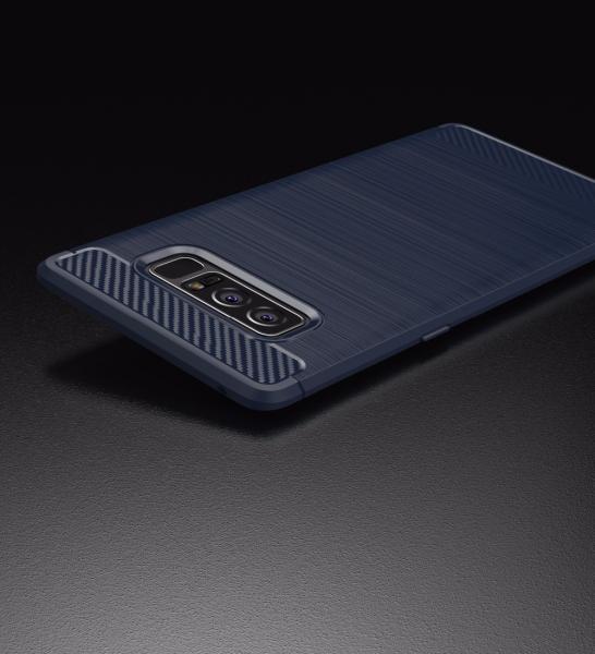 Husa Air Carbon Samsung Galaxy Note 8, Dark Blue 2