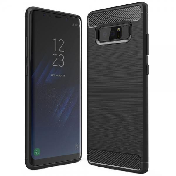 Husa Air Carbon Samsung Galaxy Note 8, Negru [0]