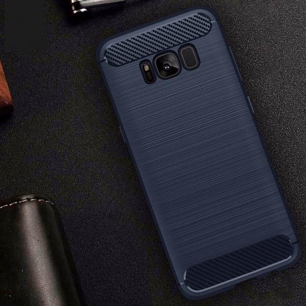 Husa Air Carbon Samsung Galaxy S8, Dark Blue 1