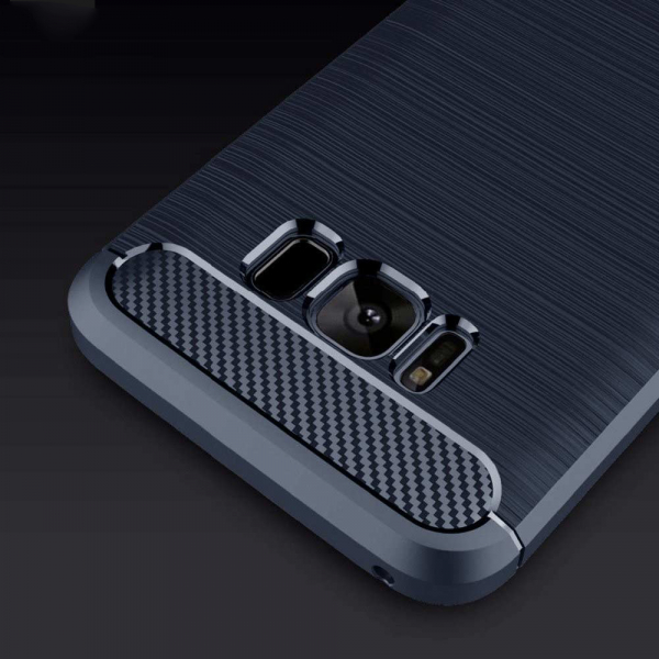 Husa Air Carbon Samsung Galaxy S8, Dark Blue 2