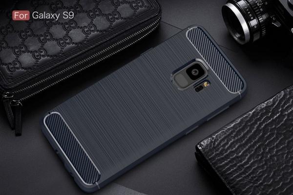 Husa Air Carbon Samsung Galaxy S9, Dark Blue [1]