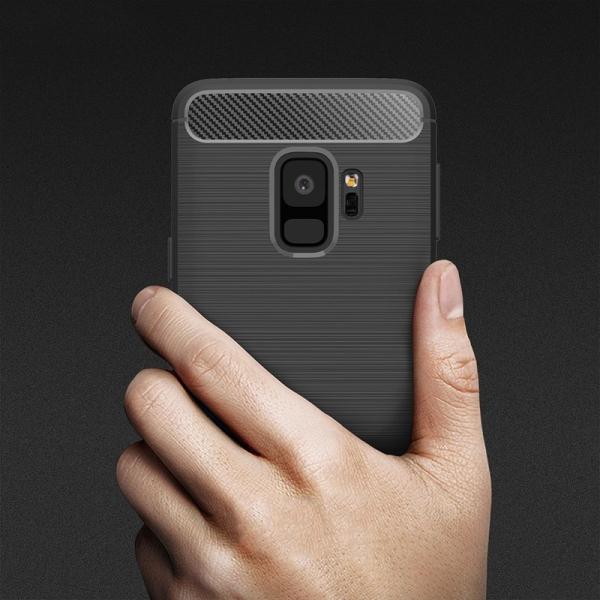 Husa Air Carbon Samsung Galaxy S9, Negru 3