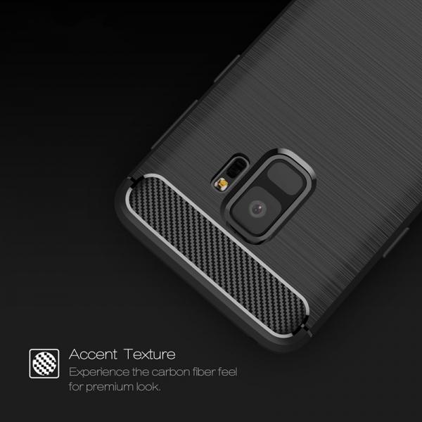 Husa Air Carbon Samsung Galaxy S9, Negru 4