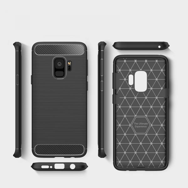 Husa Air Carbon Samsung Galaxy S9, Negru 1