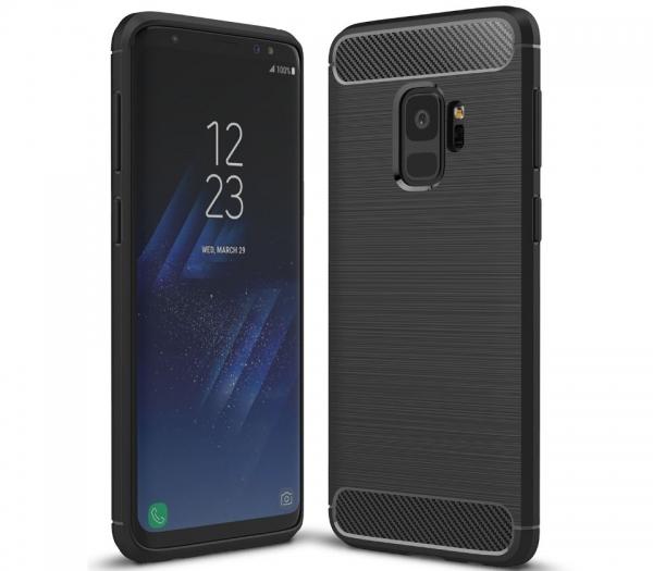 Husa Air Carbon Samsung Galaxy S9, Negru 0
