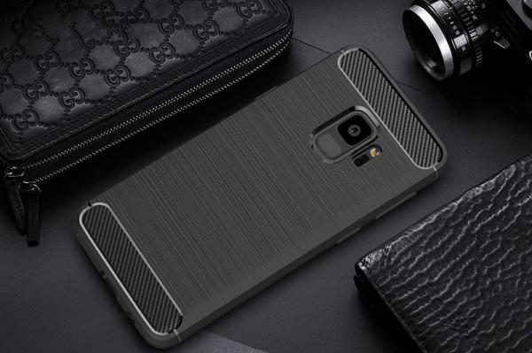 Husa Air Carbon Samsung Galaxy S9, Negru 2