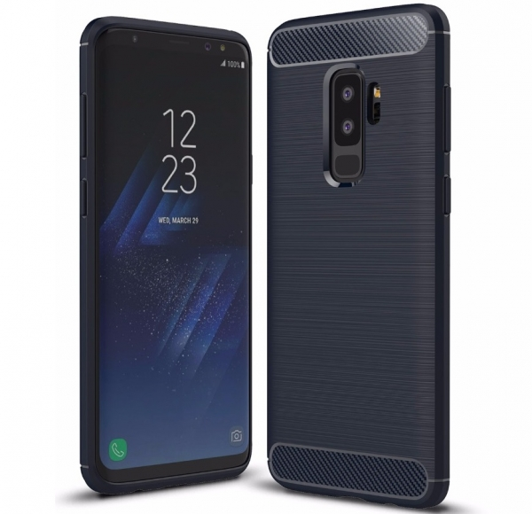 Husa Air Carbon Samsung Galaxy S9 Plus, Dark Blue 0
