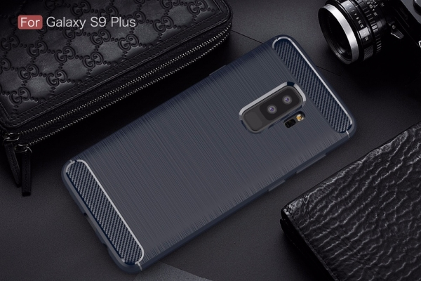 Husa Air Carbon Samsung Galaxy S9 Plus, Dark Blue 1