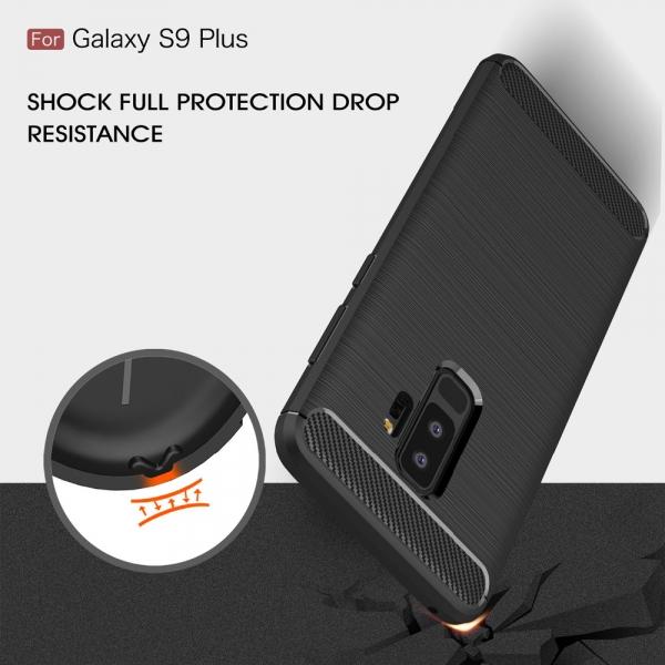 Husa Air Carbon Samsung Galaxy S9 Plus, Negru 2