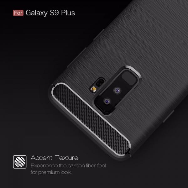 Husa Air Carbon Samsung Galaxy S9 Plus, Negru 1