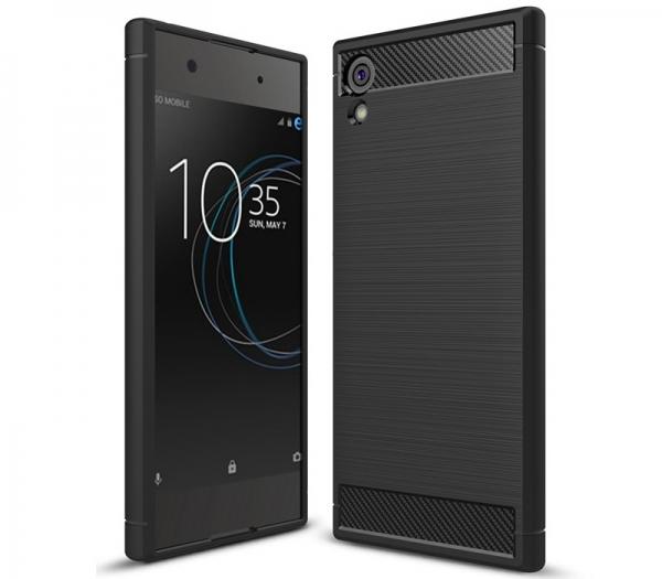 Husa Air Carbon Sony Xperia XA1, Negru 0