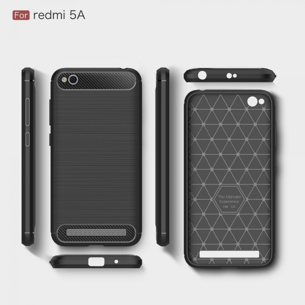 Husa Air Carbon Xiaomi Redmi 5A, Negru 2