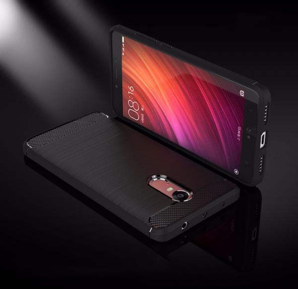 Husa Air Carbon Xiaomi Redmi Note 4, Negru 1