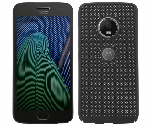 Husa Air cu perforatii Motorola Moto G5, Negru 0