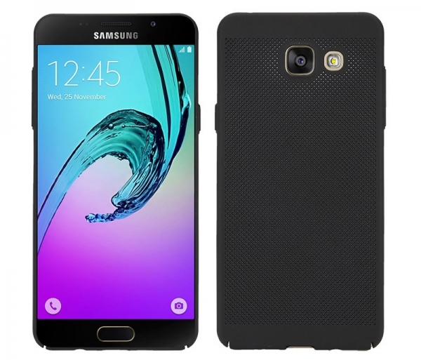 Husa Air cu perforatii Samsung Galaxy A5 (2016), Negru 0