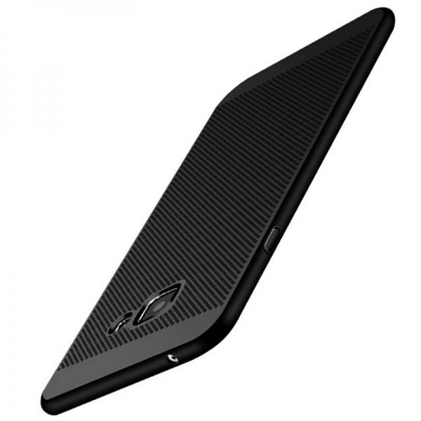 Husa Air cu perforatii Samsung Galaxy A5 (2016), Negru 1