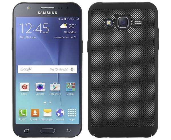 Husa Air cu perforatii Samsung Galaxy J3 (2016), Negru 0