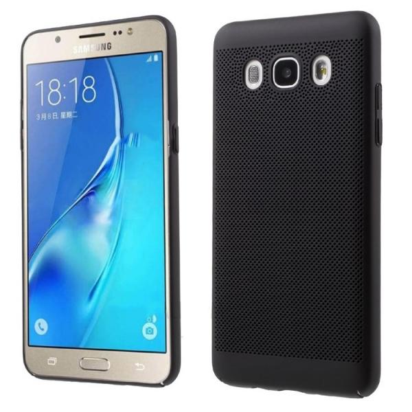 Husa Air cu perforatii Samsung Galaxy J5 (2016), Negru [0]