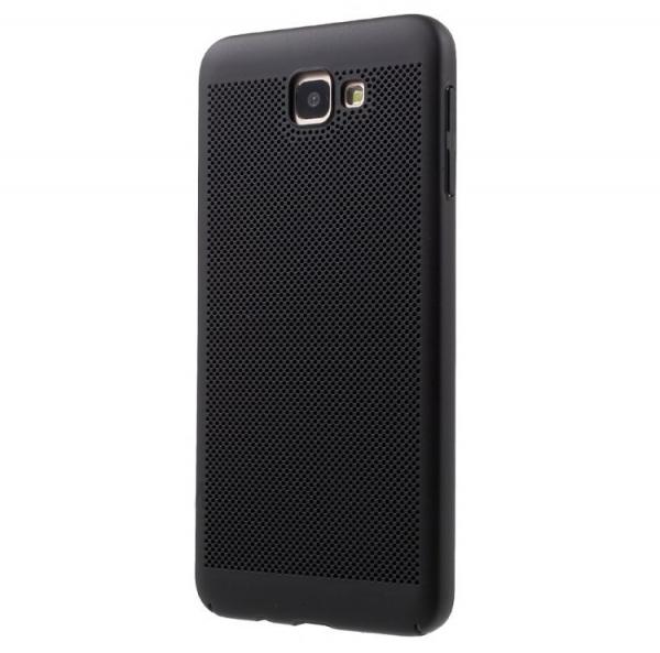 Husa Air cu perforatii Samsung Galaxy J5 Prime, Negru 0