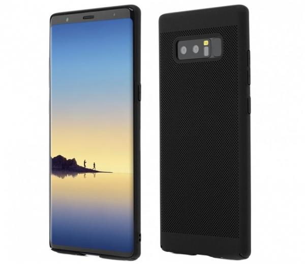 Husa Air cu perforatii Samsung Galaxy Note 8, Negru 0