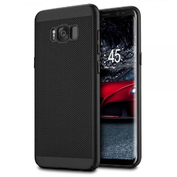 Husa Air cu perforatii Samsung Galaxy S8 Plus, Negru 1