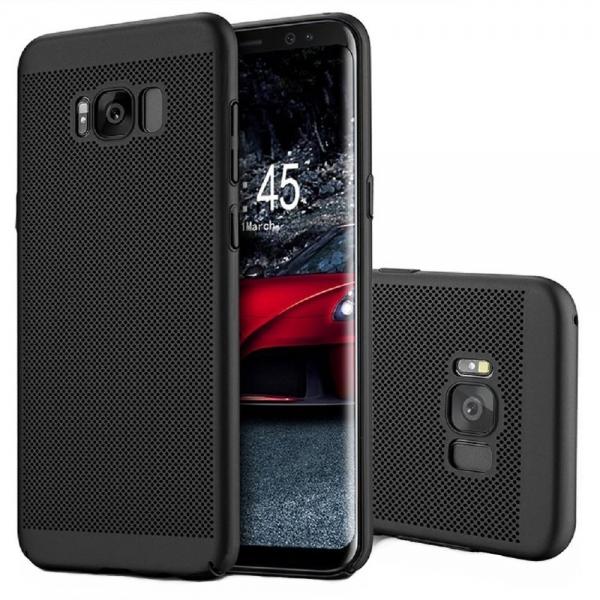 Husa Air cu perforatii Samsung Galaxy S8 Plus, Negru 0