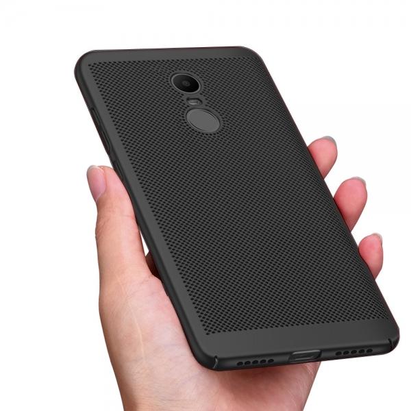 Husa Air cu perforatii Xiaomi Redmi Note 4 (Mediatek), Negru 1