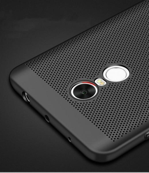 Husa Air cu perforatii Xiaomi Redmi Note 4 (Mediatek), Negru 3