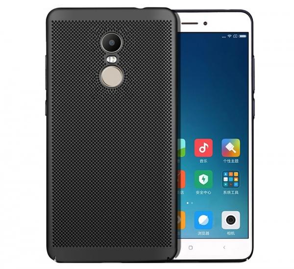 Husa Air cu perforatii Xiaomi Redmi Note 4 (Mediatek), Negru 0