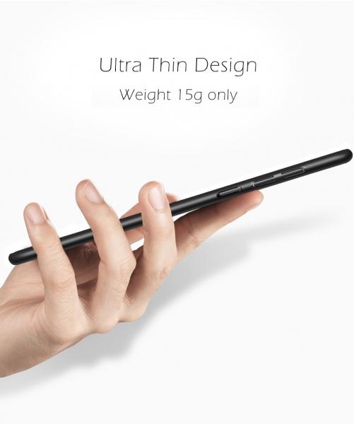 Husa Air cu perforatii Xiaomi Redmi Note 4 (Mediatek), Negru 2