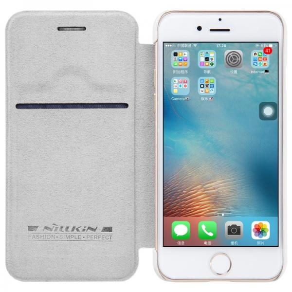 Husa Book Nillkin Qin iPhone 6 / 6S, Alb 1