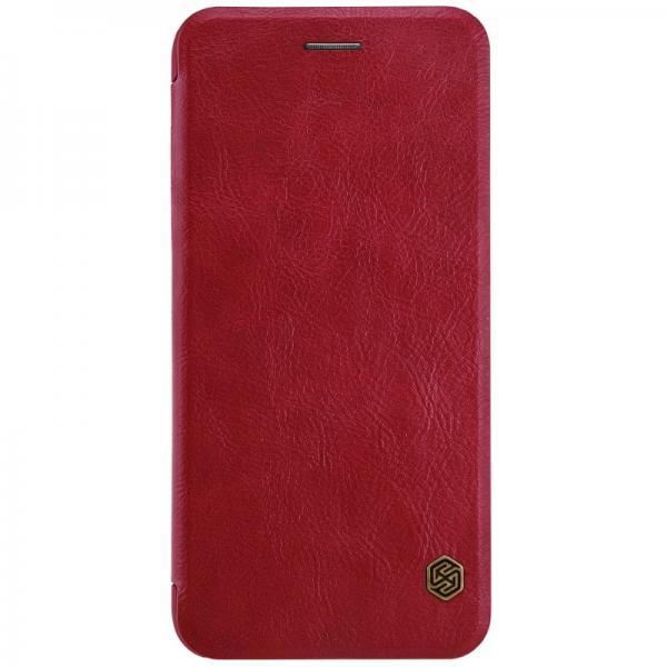 Husa Book Nillkin Qin iPhone 7 Plus, Rosu 0