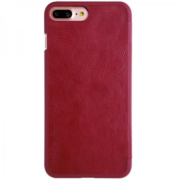 Husa Book Nillkin Qin iPhone 7 Plus, Rosu 2