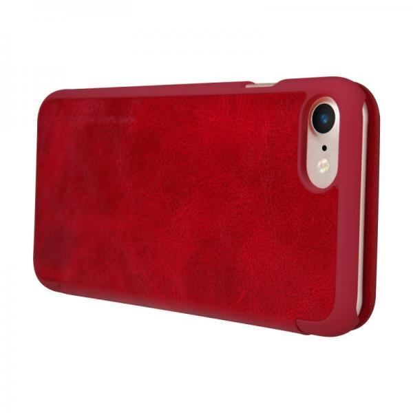 Husa Book Nillkin Qin iPhone 7, Rosu 4