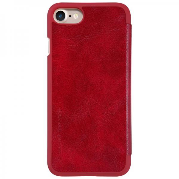 Husa Book Nillkin Qin iPhone 7, Rosu 1