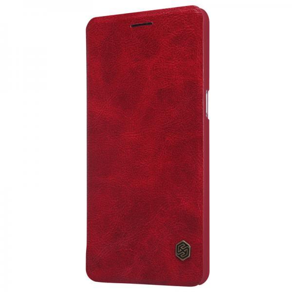 Husa Book Nillkin Qin OnePlus 3, Rosu 1