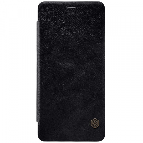 Husa Book Nillkin Qin Samsung Galaxy A8 (2018), Negru 0