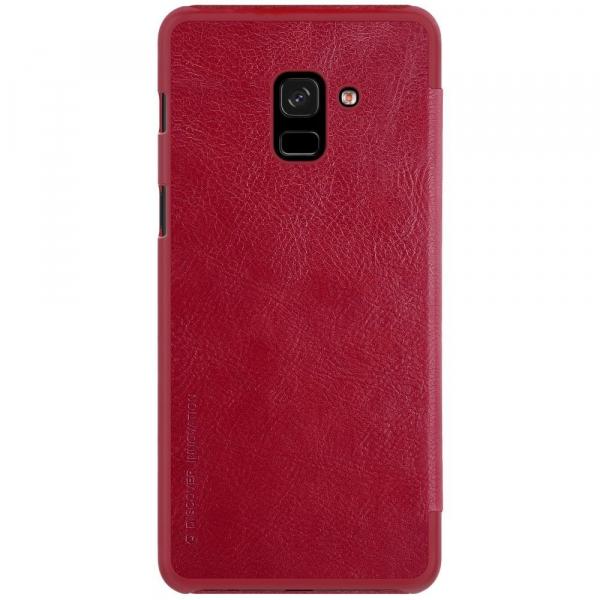 Husa Book Nillkin Qin Samsung Galaxy A8 (2018), Red [1]