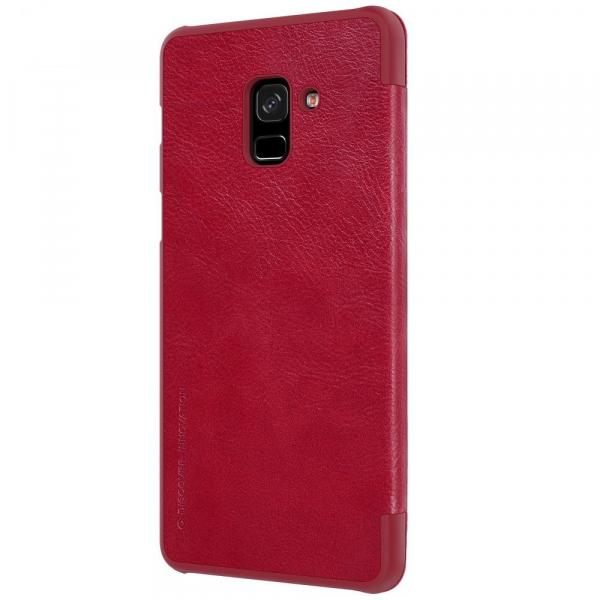 Husa Book Nillkin Qin Samsung Galaxy A8 (2018), Red [2]