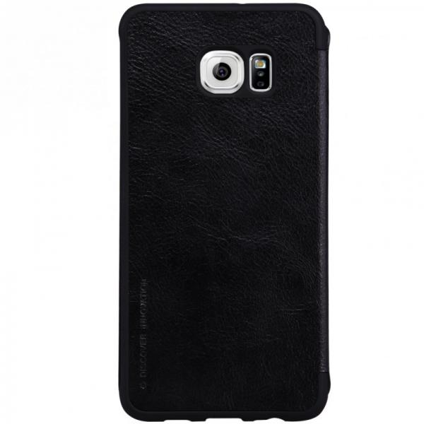 Husa Book Nillkin Qin Samsung Galaxy S6 Edge, Negru 1