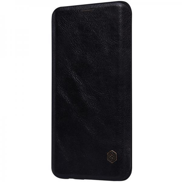 Husa Book Nillkin Qin Samsung Galaxy S6 Edge Plus, Negru [1]
