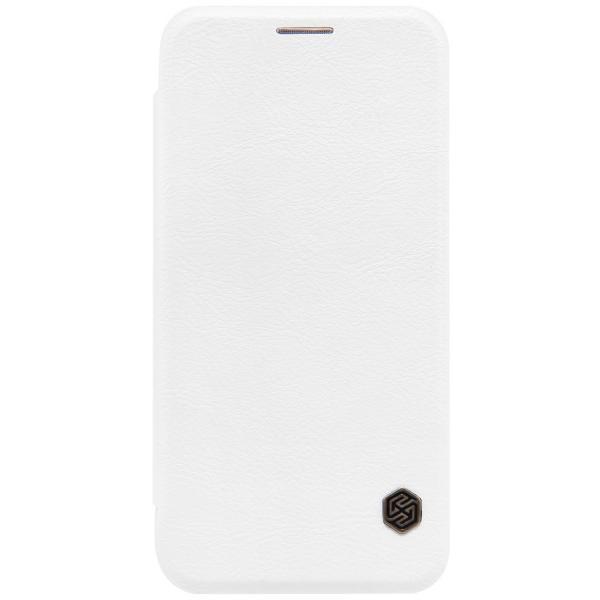 Husa Book Nillkin Qin Samsung Galaxy S7, Alb [0]