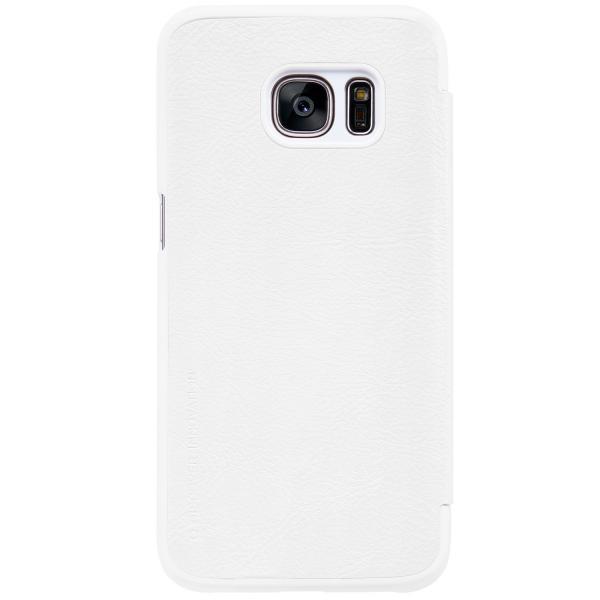 Husa Book Nillkin Qin Samsung Galaxy S7, Alb [2]