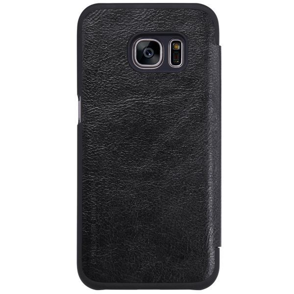 Husa Book Nillkin Qin Samsung Galaxy S7, Negru [1]