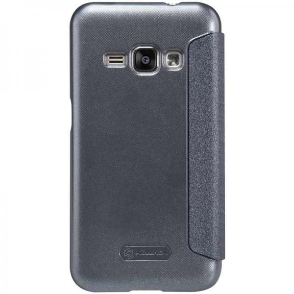 Husa Book Nillkin Sparkle Samsung Galaxy J1 (2016), Negru 3